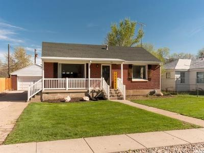 South Ogden Single Family Home Under Contract: 722 Bel Mar Dr