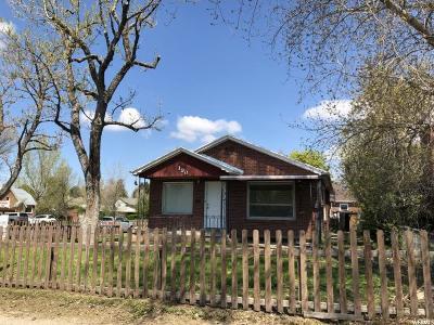 Springville Single Family Home For Sale: 190 W 400 S