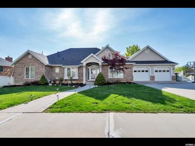 Orem Single Family Home For Sale: 1799 N Skyline Dr E