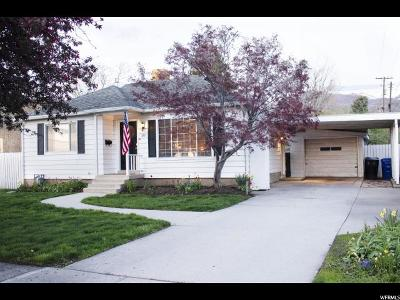 Bountiful Single Family Home For Sale: 357 S 100 E