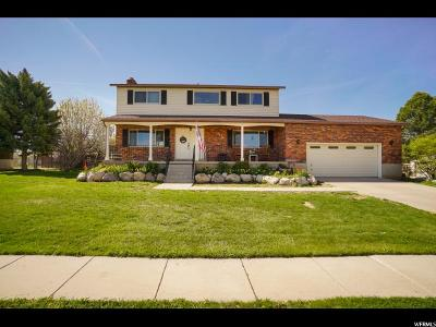 Roy Single Family Home Under Contract: 3619 W 5350 S