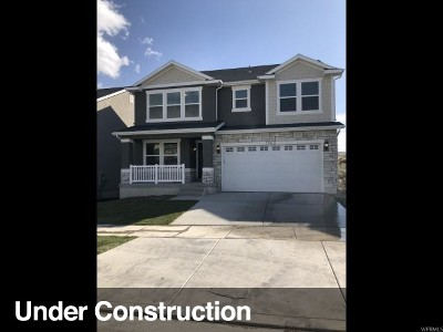 Utah County Single Family Home For Sale: 1763 W Stone Gate Dr #108