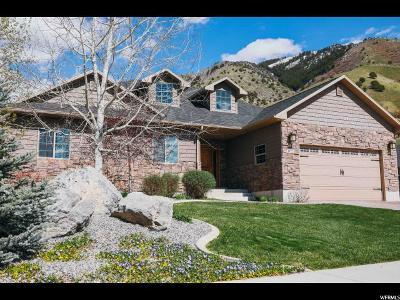 North Logan Single Family Home Under Contract: 1872 N 2050 E