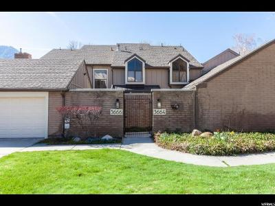 Provo Townhouse For Sale: 3666 Little Rock Ln
