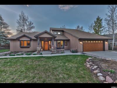 Park City Single Family Home For Sale: 4855 E Meadows #5