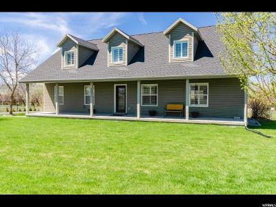 Paradise Single Family Home Under Contract: 8871 S 100 E