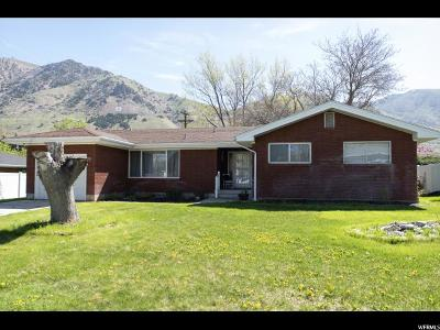 Brigham City Single Family Home Under Contract: 176 N 800 E