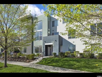South Jordan Condo Under Contract: 10384 S Clarks Hill Dr #103