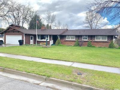 Preston Single Family Home For Sale: 287 E Valley Vw