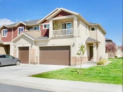 Lehi Townhouse For Sale: 3134 W Manor View Dr