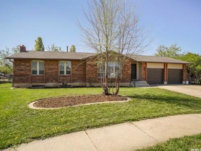 Kaysville Single Family Home For Sale: 588 S 350 E