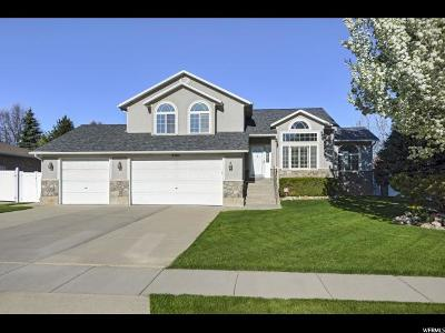 West Jordan Single Family Home Under Contract: 8282 S Fox Pointe Ct
