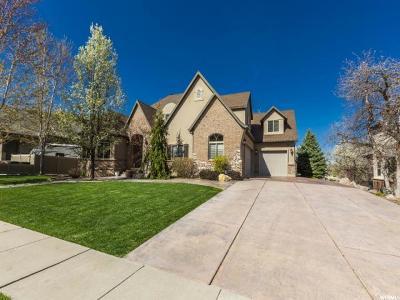 South Weber Single Family Home For Sale: 8223 S 2560 E