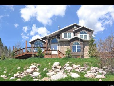 Mountain Green Single Family Home Under Contract: 5880 N Wasatch Dr W