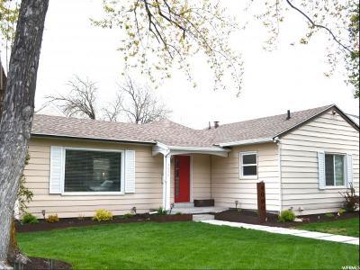 Salt Lake City UT Single Family Home For Sale: $599,900