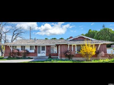 Orem Single Family Home For Sale: 838 E 500 S