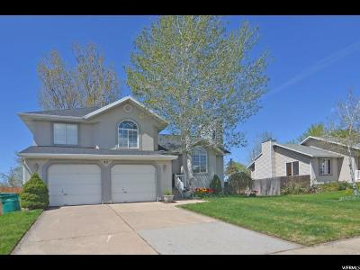 Layton Single Family Home Under Contract: 83 N 750 W