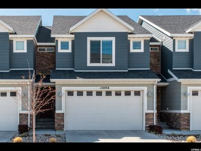 Bluffdale Townhouse Under Contract: 15098 S Bright Stars Dr W