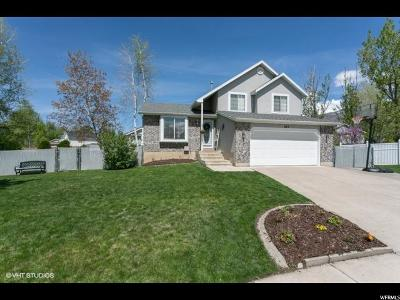 Centerville Single Family Home Under Contract: 672 W Kit Carson Cir N