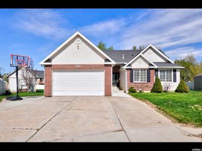 South Weber Single Family Home For Sale: 7517 S 2020 E