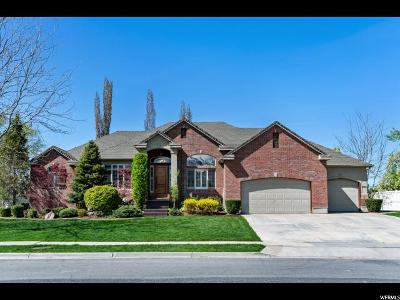 Kaysville Single Family Home Backup: 258 N Willowmere Dr W