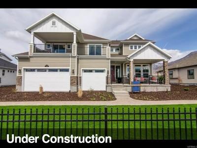 American Fork Single Family Home For Sale: 486 N 1290 E #329