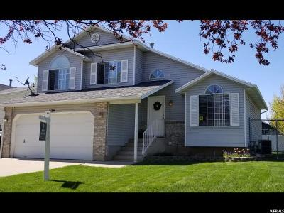 Kaysville Single Family Home Under Contract: 356 W Creekside Way N