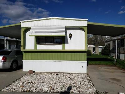 Roy Single Family Home For Sale: 3800 S Monte Vista 1900 #79