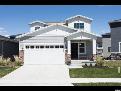 Bluffdale Single Family Home Under Contract: 598 W Koins Way S