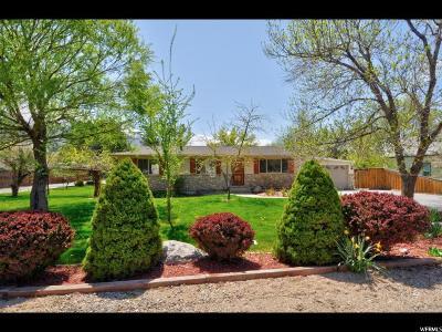 Mapleton Single Family Home For Sale: 760 E 400 N