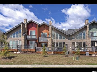 Park City Townhouse For Sale: 8077 Courtyard Loop #9
