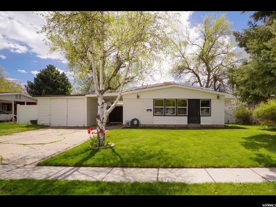 Kaysville Single Family Home Under Contract: 317 W 350 S