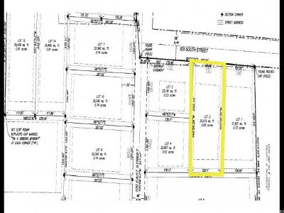 Richmond Residential Lots & Land For Sale: 130 E 825 S