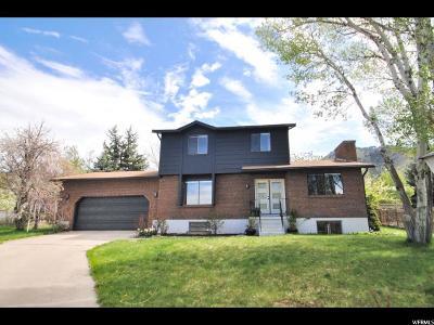 Logan Single Family Home Under Contract: 1350 E 60 S