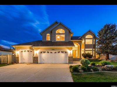 South Jordan Single Family Home Under Contract: 9896 S Congressional W