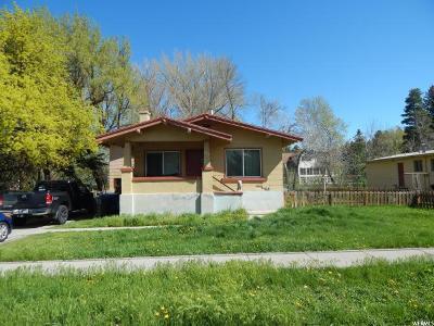 Logan Single Family Home Under Contract: 595 E Center