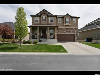 Kaysville Single Family Home Under Contract: 834 W Steeple Chase Dr