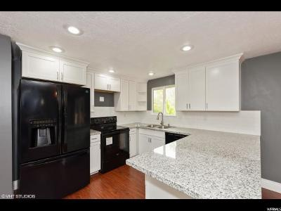 Roy Single Family Home Under Contract: 5578 S 3450 W