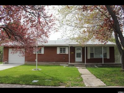 Single Family Home For Sale: 420 S 400 E
