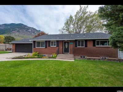 North Ogden Single Family Home Under Contract: 1273 E 2600 Dr N
