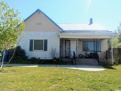 Brigham City Single Family Home Under Contract: 453 S 400 W