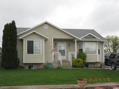 Tremonton Single Family Home Under Contract: 694 W 860 S