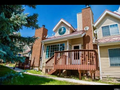 Park City Townhouse For Sale: 2953 W Wildflower Ct #35