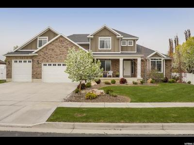 Layton Single Family Home Under Contract: 121 N 2975 W