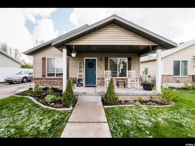 Logan Single Family Home Under Contract: 842 S 670 W