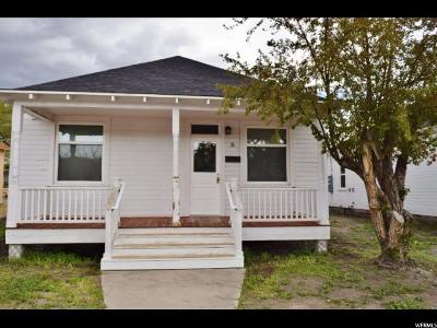 Helper Single Family Home For Sale: 36 N Main