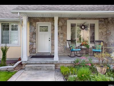 Orem Single Family Home Under Contract: 1869 N 285 E