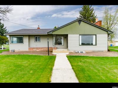 Benson Single Family Home Under Contract: 3084 W 3200 N