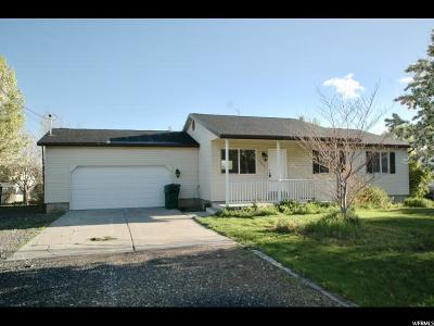 Santaquin Single Family Home Under Contract: 152 W 400 N