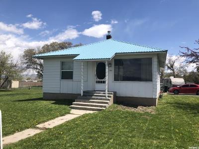 Preston Single Family Home Under Contract: 134 N 400 W